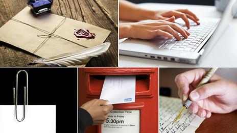 Escritura de cartas y correos electrónicos