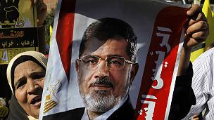 Simpatizante de Morsi. AP