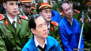 Phúc thẩm vụ án Dương Chí Dũng