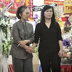 Phu nhân Chủ tịch nước Trương Tấn Sang tại lễ tang