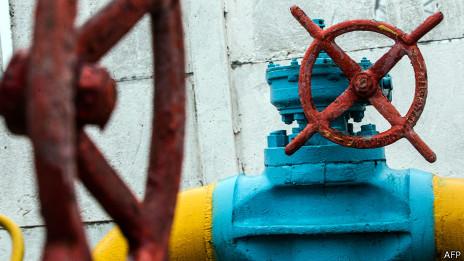 Válvula de gas, cerca de Kiev, UcraniaVálvula de gas, cerca de Kiev, Ucrania