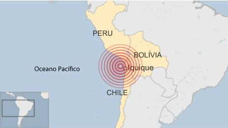 Infográfico - terremoto Chile (BBC)