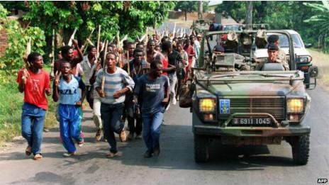 Genocídio em Ruanda (AFP)