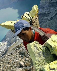 Trabajador en mina de Java