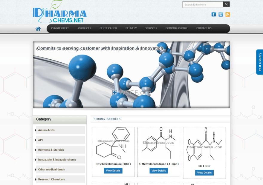 Dharmachems.net Web's Pharmacy
