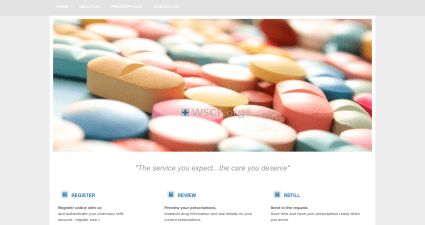 Hudsondrugs.com Confidential online Pharmacy.