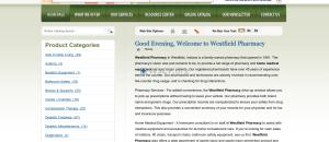 Westfieldpharmacy.net Great Web Pharmacy