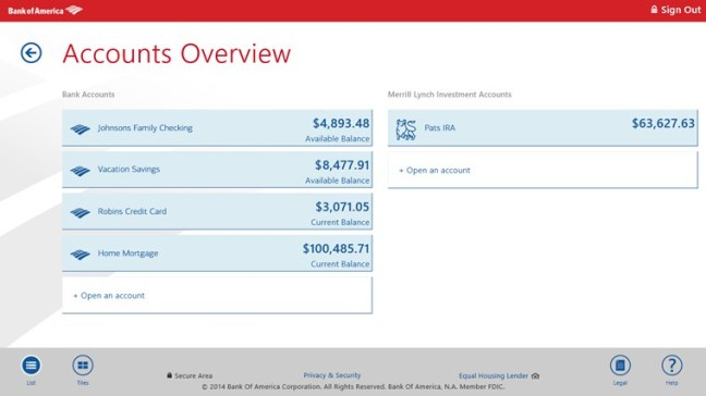 Bank Of America Checking Account Number Online (microsoft.com)