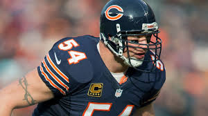 Brian Urlacher Hall of Fame Chicago Bears