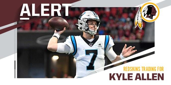 Kyle Allen Redskins
