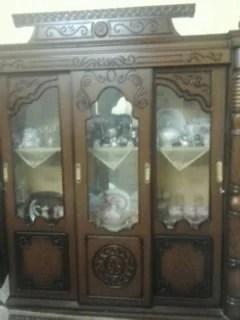 نيش جرار 3 ضلفة بنى غامق للبيع أثاث منزلي في القاهرة