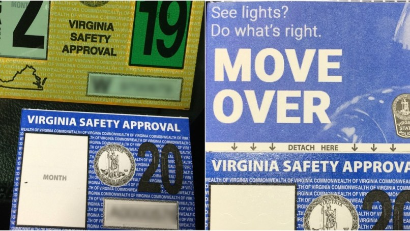 State Police Redesigns Inspection Stickers