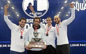 2017: Egypt reclaim the men's title
