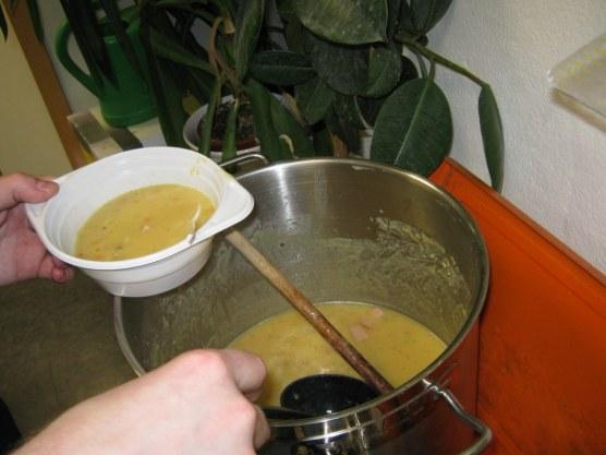 """Abends war dann das Motto """"Es ist noch Suppe da"""". Sehr lecker..."""