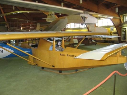 Tollkühnen Fluggeräte im Segelflugmuseum