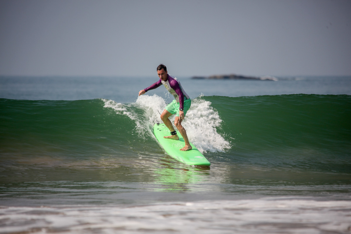 Русская школа серфинга на Шри-Ланке
