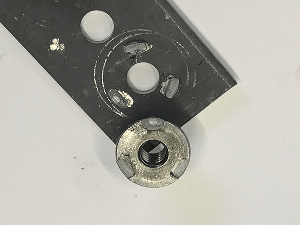 Push-out test sample 03 | Weld Systems Integrators
