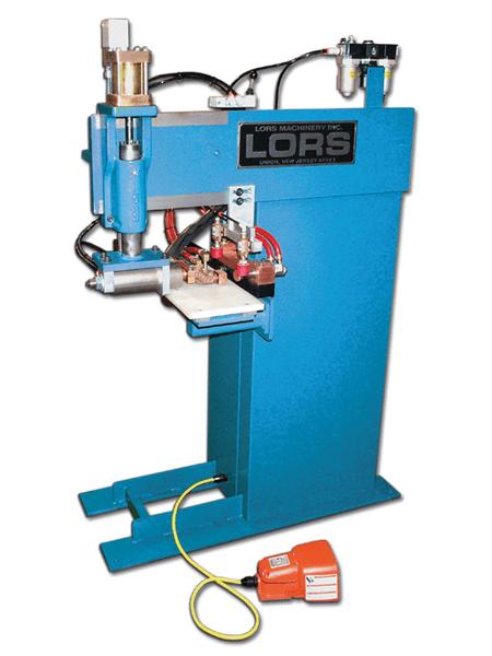 LORS Model 856 Lock Box and Strike Welder | blue