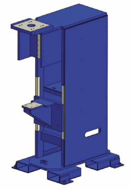 AWS Article - Figure 06 - Expanded Size Two Extra Rigid Frame | Weld Systems Integrators