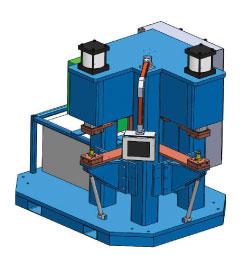 W2CD-9J-12 - Two Selectable Head CD Welder | Weld Systems Integrators