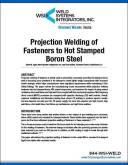 Article - Projection Welding of Fasteners   Weld Systems Integrators