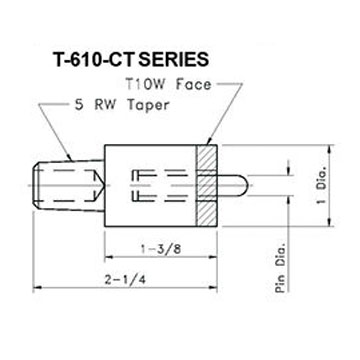 Tipaloy Stud and Nut Electrodes | Weld Systems Integrators
