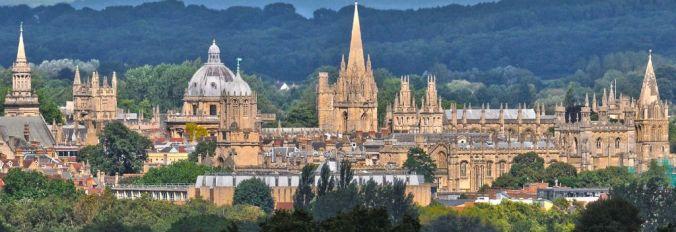 La ville d'Oxford