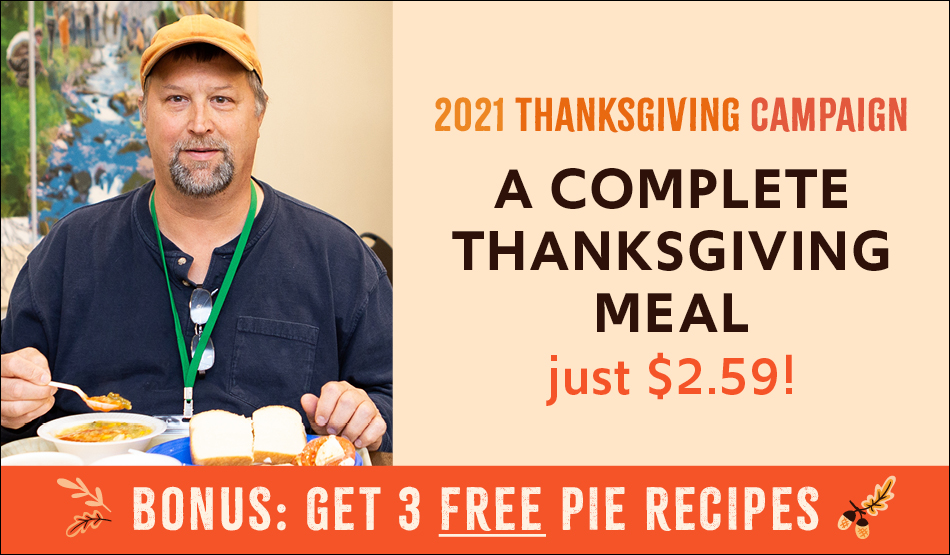 A complete Thanksgiving meal is just $2.59