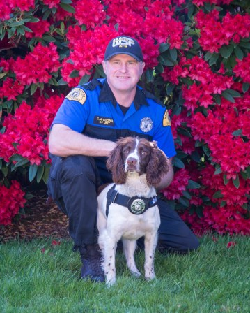 Trooper Christopher Cooper and K9 Ralph