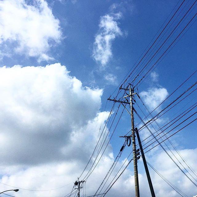 やっと梅雨明け。暑いけど夏らしくていい天気!#イマソラ #mysky #sky #cloud #blue #fine #summer #暑