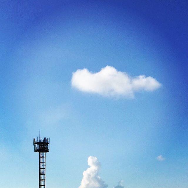 久しぶりのぽっかりくん発見!#イマソラ #mysky #sky #cloud #fine #blue