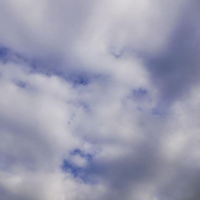 曇り空にも顔がある。なんか怖い顔ですが。#イマソラ #mysky #sky #cloudy #cloud #face