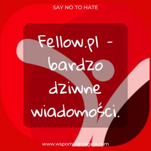 Fellow.pl – bardzo dziwne wiadomości ?.