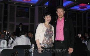 Айдамир и г-жа Анн Пеллоуд - секретарь-координатор Всемирного Комитета по Грэпплингу и Панкратиону (FILA)