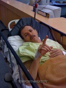 В госпитале, 2009г.