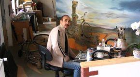Футбольные знаменитости – в работах чеченского художника
