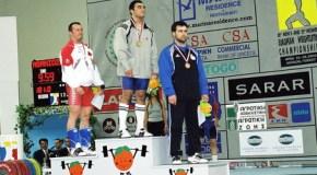 Асланбек Эдиев бронзовый призер ЧЕ-02