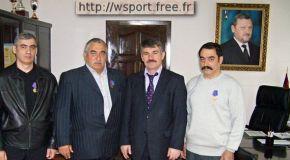 Братья Ачичаевы награждены Советом профсоюзов Чечни