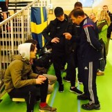 На турнир приехал МСМК Аслан Албаков - основатель клуба в г.Вервье, чьи традиции достойно продолжают его бывшие ученики уже под руководством руководителя клуба Имрана Табаева