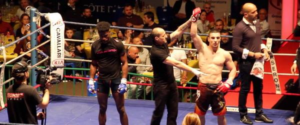 Мехди Дакаев победил на Nice Fight Night