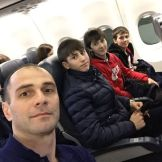 Магомед Мицаев с учениками в пути на первенство России