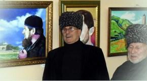 Борец и художник Зайнди Аласханов