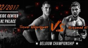Тимур Никархоев— чемпион Бельгии среди профи