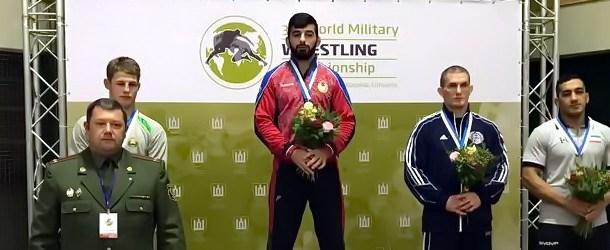Ибрагим Ильясов— чемпион мира среди военнослужащих