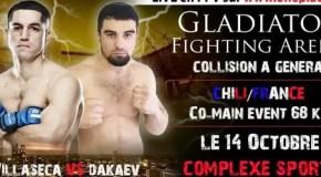 Мехди Дакаев выиграл пояс GFA
