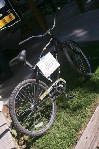 Deals Gap's raffle bike!