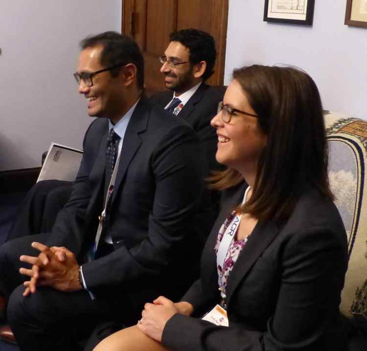 Young Radiologists on Capitol Hill