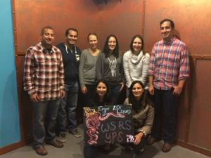 The first WSRS Young and Early Career Professional Section (YPS) event was a success, with our members working together to solve hidden puzzles during an escape room event. Although they were not able to escape, they had a lot of fun trying to accomplish the task as a team.
