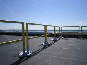collapsible guardrail