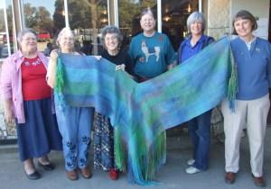 CW 2008 L shawl